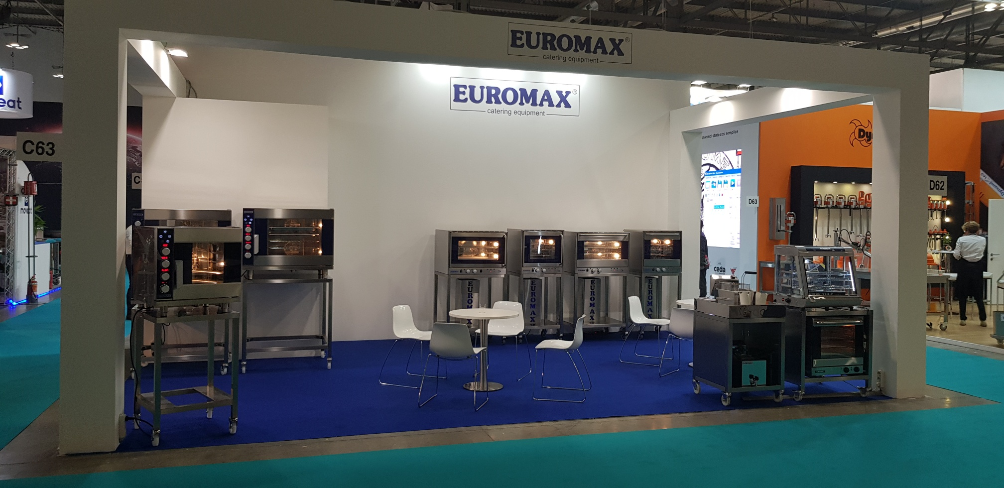 Host 2019 stand Euromax