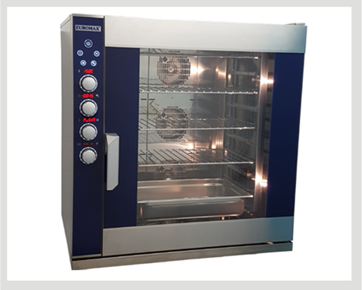 Digital autocleaning Gastronorm steam combi ovens